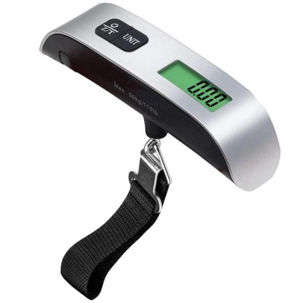 Digital bagagevægt. Max bærevægt: 50 kg.
