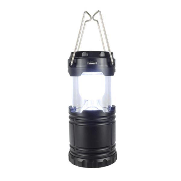 Genopladelig solcelle camping LED lampe.