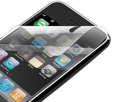 Skærmbeskyttelse til Apple iPhone 3G & 3GS.