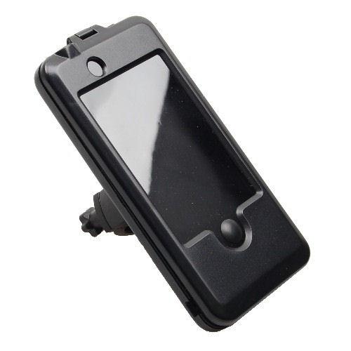 Vandtæt iPhone 4 / 4S cykelholder til styret. Sort.