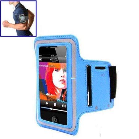 Sportsarmbånd til iPhone 5 / 5S. Blå.