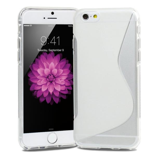 S-Line TPU cover til iPhone 6/6S. Klar.
