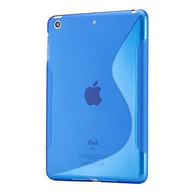 S-Line TPU cover til iPad Mini. Blå.