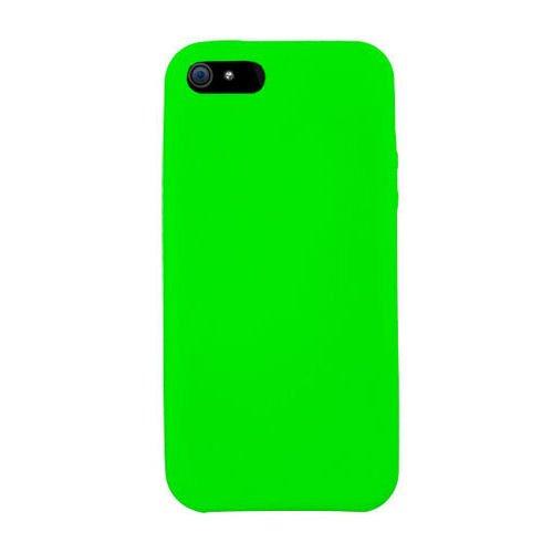 Silikone cover til iPhone 5/5S/SE. Grøn.