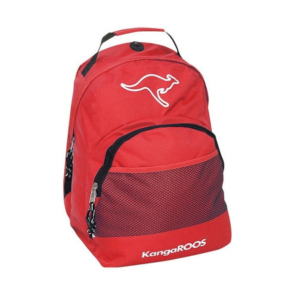KangaROOS rygsæk. 32x40x12cm. Rød.