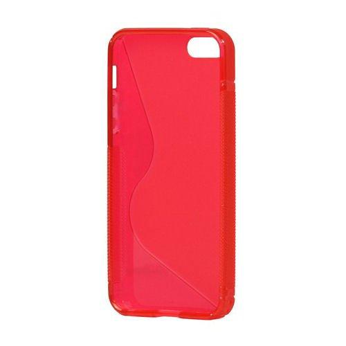 S-Line TPU cover til iPhone 5/5S/SE. Rød.