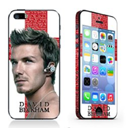 iPhone 5/5S/SE sticker. David Beckham.