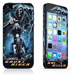 iPhone 5/5S/SE sticker. Ghost Rider.