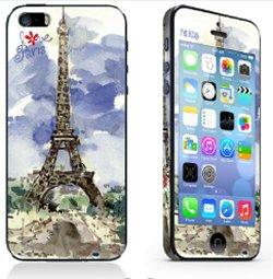 iPhone 5/5S/SE sticker. Paris.