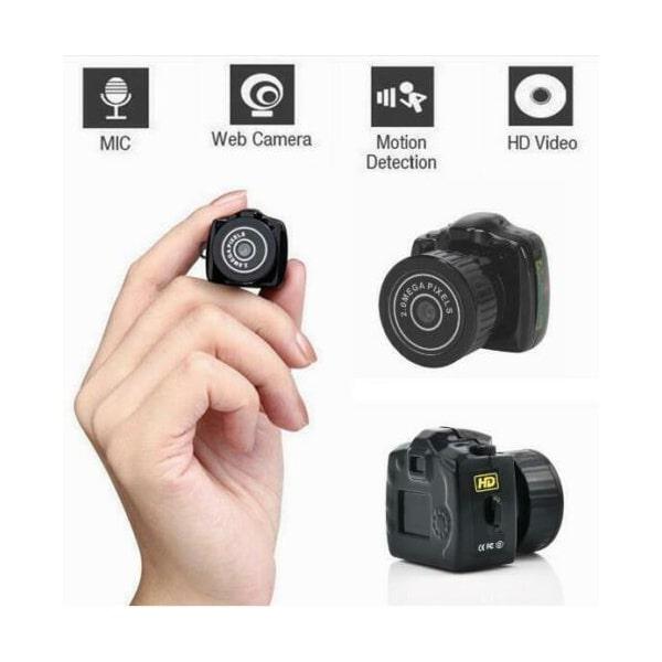 Original Y2000 Mini kamera og DVR Videokamera. Kun 26mm